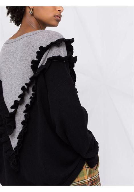 maglia scollo a V con volume ampio PHILOSOPHY di LORENZO SERAFINI | Maglia | A092657022555