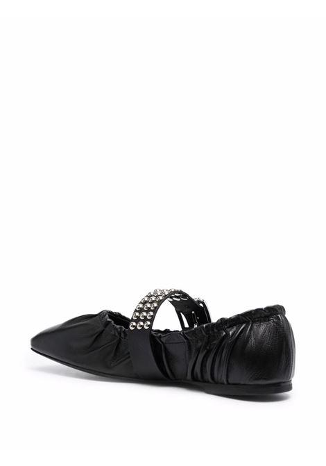 ballerina con fascia borchiata PHILOSOPHY di LORENZO SERAFINI | Scarpe | A32055778555