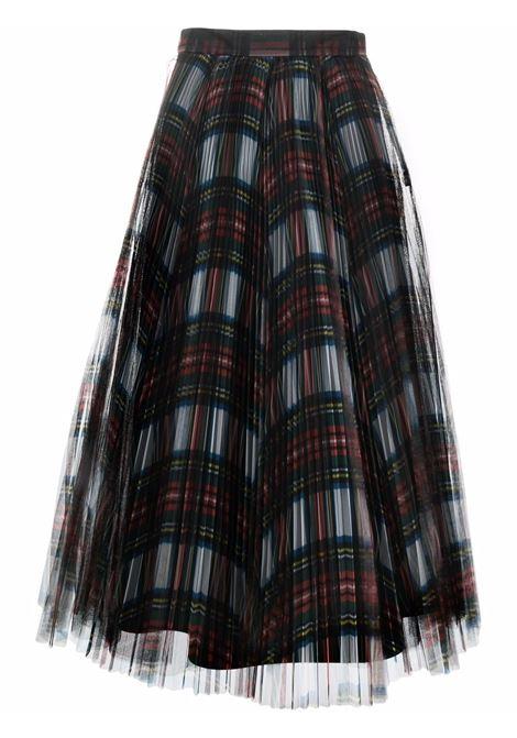 gonna plissettata in tulle scozzese PHILOSOPHY di LORENZO SERAFINI   Gonna   V010657151115