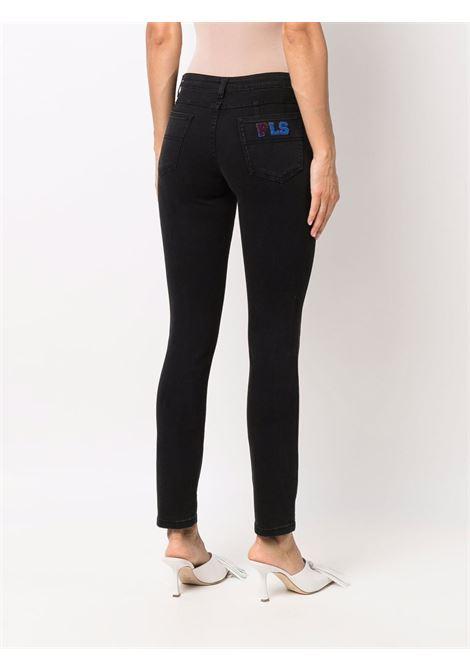 pantalone in denim nero PHILOSOPHY di LORENZO SERAFINI | Pantalone | V03227130555