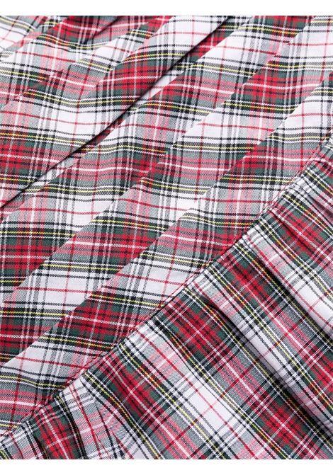 abito scozzese scollo a V PHILOSOPHY di LORENZO SERAFINI | Abito | V041757221002