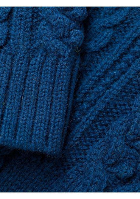 abito girocollo in maglia lavorata a trecce PHILOSOPHY di LORENZO SERAFINI | Abito | V04877106296