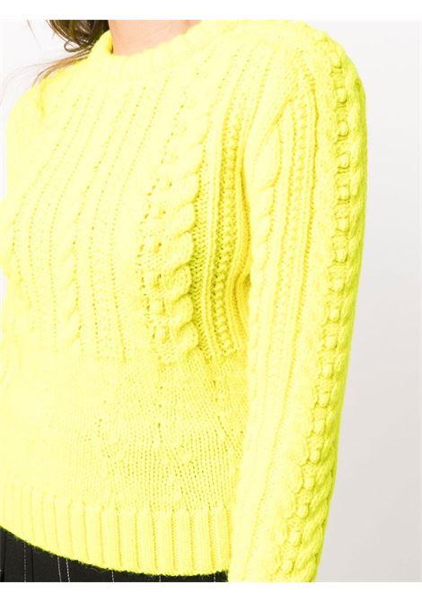 maglione girocollo lavorato a trecce PHILOSOPHY di LORENZO SERAFINI | Maglia | V0925710632
