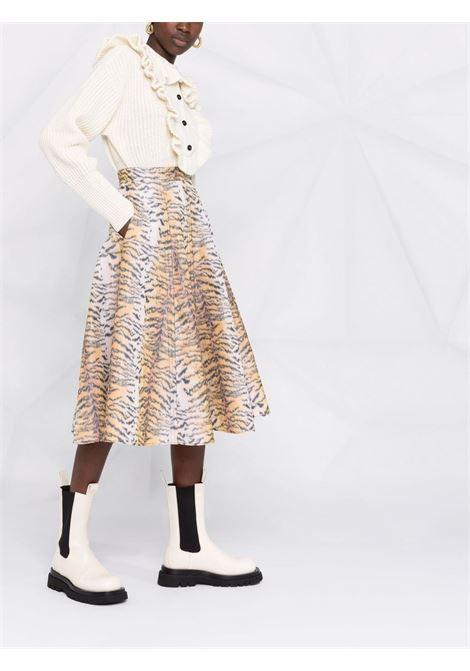 maglione a polo con rouches PHILOSOPHY di LORENZO SERAFINI | Maglia | V093557033