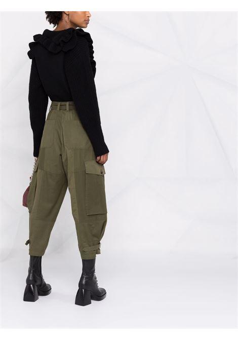 maglione a polo con rouches PHILOSOPHY di LORENZO SERAFINI | Maglia | V09355703555