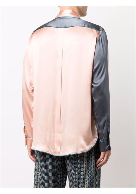 camicia bicolore PIERRE LOUIS MASCIA | Camicia | ADANA/U10642GRIGIO/CIPRIA