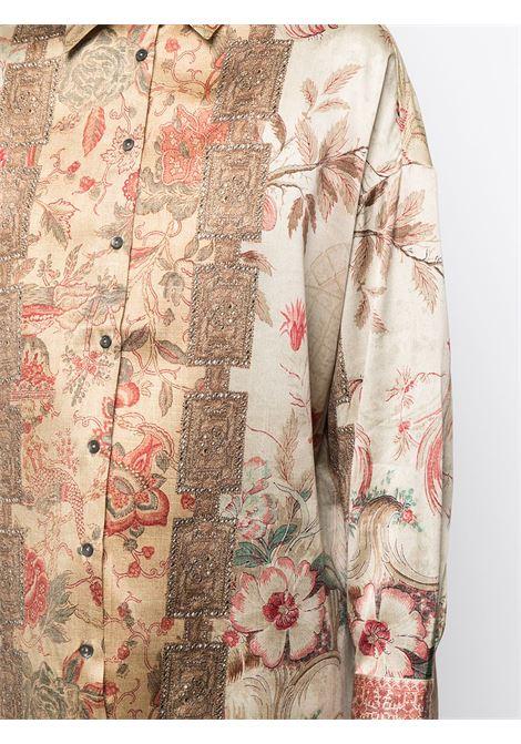 camicia fantasia oversize PIERRE LOUIS MASCIA | Camicia | ADANASTR/S11198762