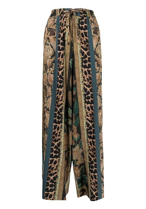 pantalone stampato con elastico in vita PIERRE LOUIS MASCIA | Pantalone | ADANASTR/SV11094760