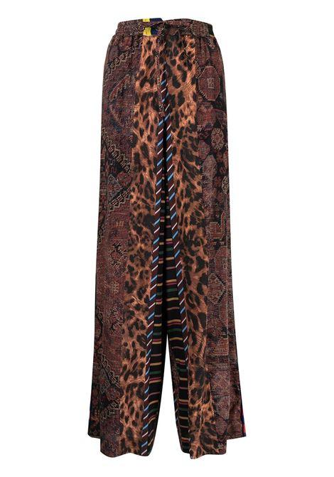 pantalone stampato con elastico in vita PIERRE LOUIS MASCIA | Pantalone | ADANASTR/SV11094764