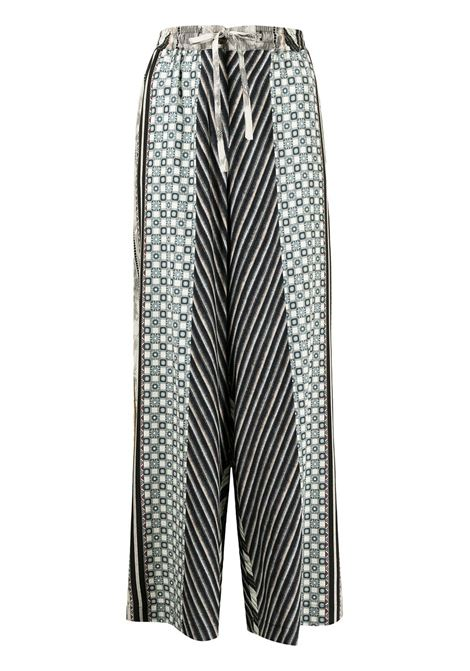 pantalone stampato con elastico in vita PIERRE LOUIS MASCIA | Pantalone | ADANASTR/SV11094765