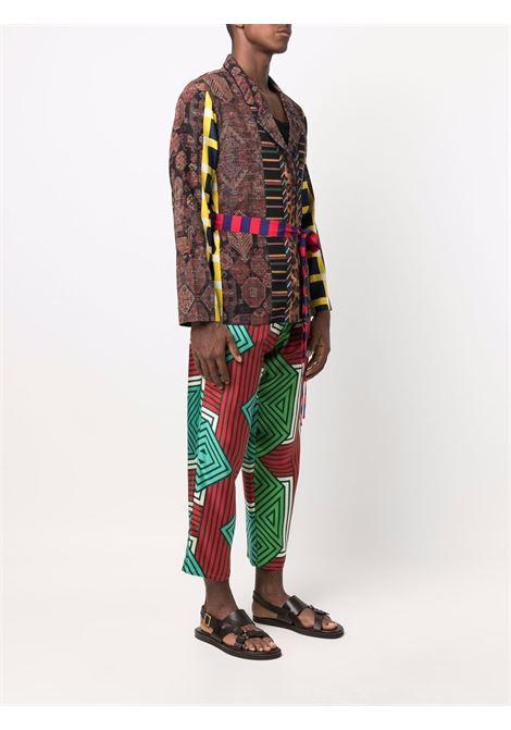 giacca con multi stampa PIERRE LOUIS MASCIA | Giacca | ADANASTR/SV11096764