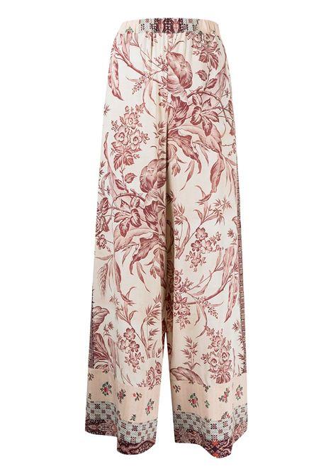 pantalone stampato con elastico in vita PIERRE LOUIS MASCIA | Pantalone | ADANASTRSV10766758