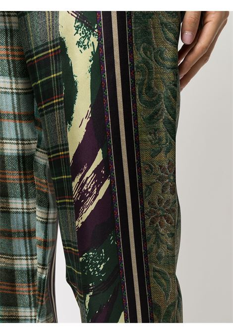 pantalone fantasia con elastico in vita PIERRE LOUIS MASCIA | Pantalone | ALOE/S10959121766