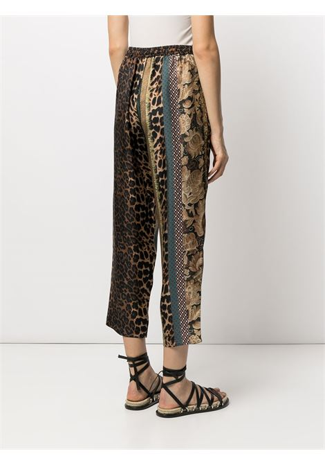 pantalone fantasia con elastico in vita PIERRE LOUIS MASCIA | Pantalone | ALOE/S10959122013