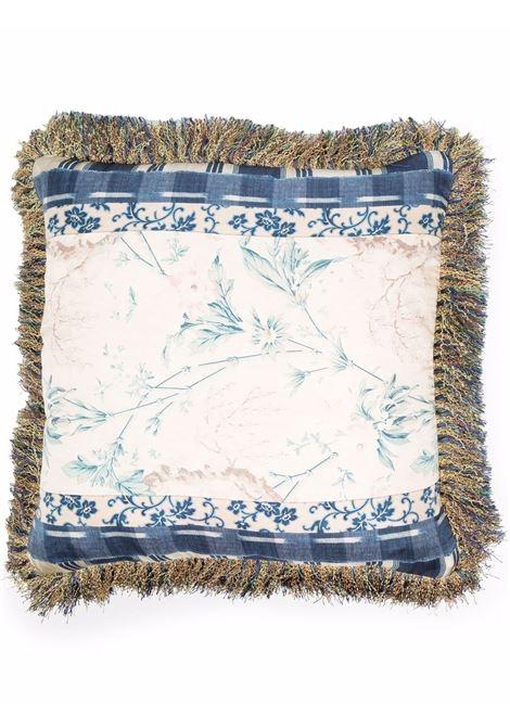 cuscino in seta stampata e flanella PIERRE LOUIS MASCIA | Cuscino | ALOE025503834
