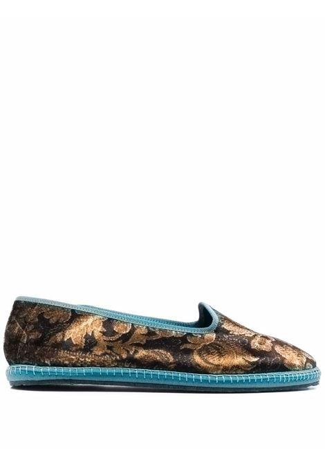 loafer in velluto stampato in collaborazione con DROGHERIA CRIVELLINI PIERRE LOUIS MASCIA | Scarpe | KANPURPNTFR503831
