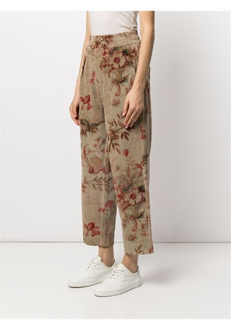 pantalone in velluto a fantasia PIERRE LOUIS MASCIA | Pantalone | REVENGNEW/S11231021