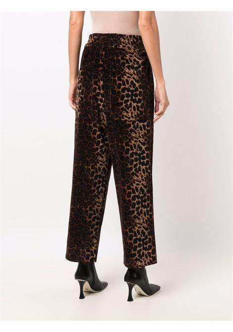 pantalone stampa animalier con elastico in vita PIERRE LOUIS MASCIA | Pantalone | REVENGNEW/S11231121895