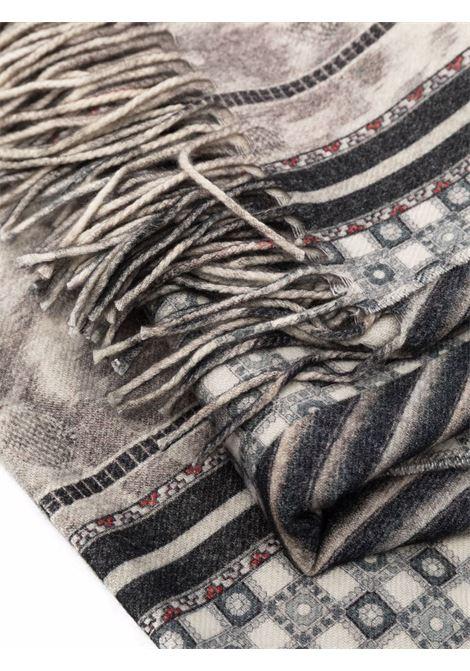 plaid fantasia con frange 135x190 cm PIERRE LOUIS MASCIA | Plaid | SIDNEY/2S122059