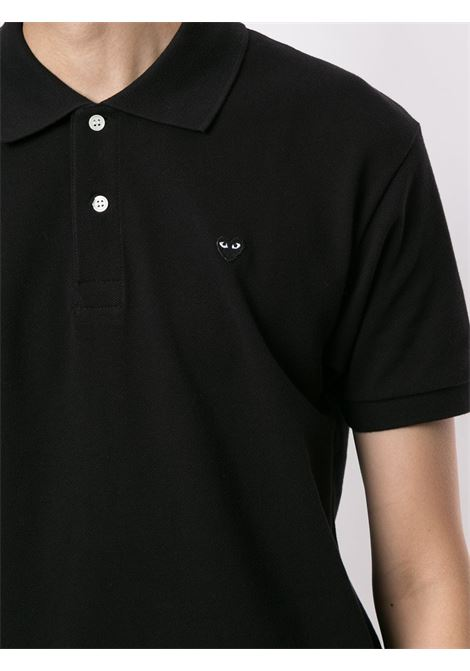 polo manica corta con logo PLAY COMME DES GARCONS | Polo | P1T2061