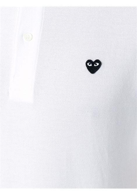 polo manica corta con logo PLAY COMME DES GARCONS | Polo | P1T2063