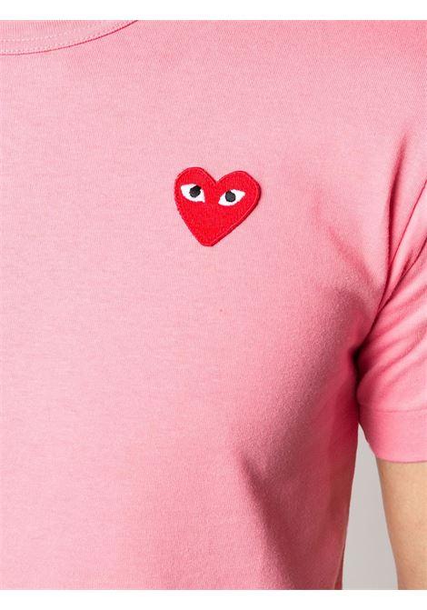 T-shirt con applicazione cuore PLAY COMME DES GARCONS | T-shirt | P1T2723