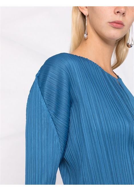 giacchina in tessuto plissé PLEATS PLEASE | Cardigan | PP18JO12373