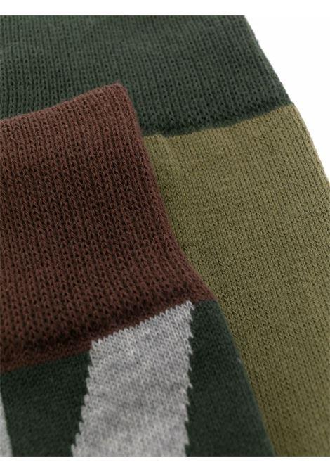 calza camouflage KAWS SACAI | Calze | 21-0262S936