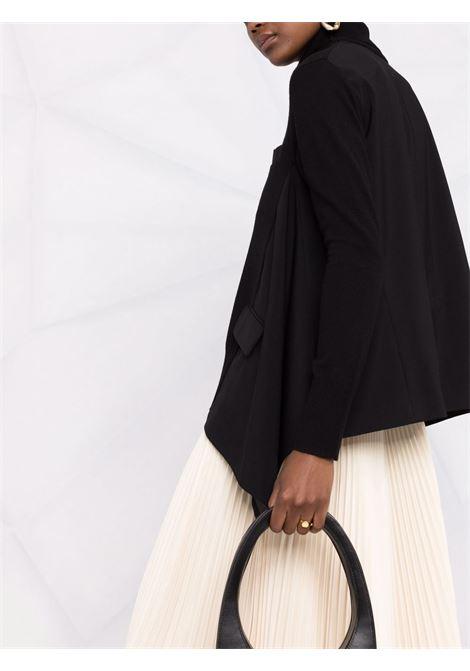 maglia collo alto con  effetto blazer SACAI | Maglia | 21-05664001