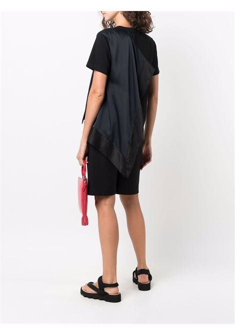 t-shirt manica corta con foulard SACAI | T-shirt | 21-05675001