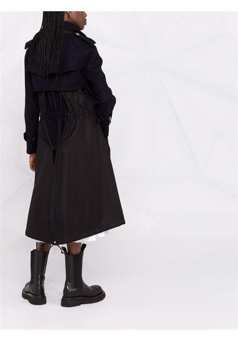 cappotto lungo con coulisse in vita SACAI | Cappotto | 21-05722202