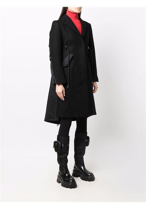 cappotto in lana e tessuto tecnico SACAI | Cappotto | 21-05726001