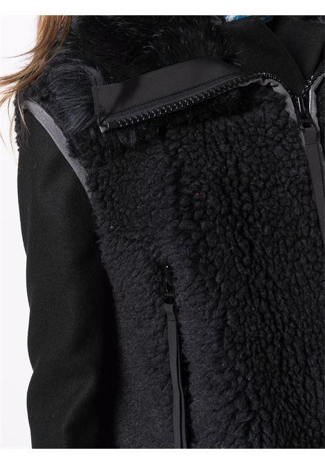 cappotto con inserti in pelo sintetico SACAI | Cappotto | 21-05751001