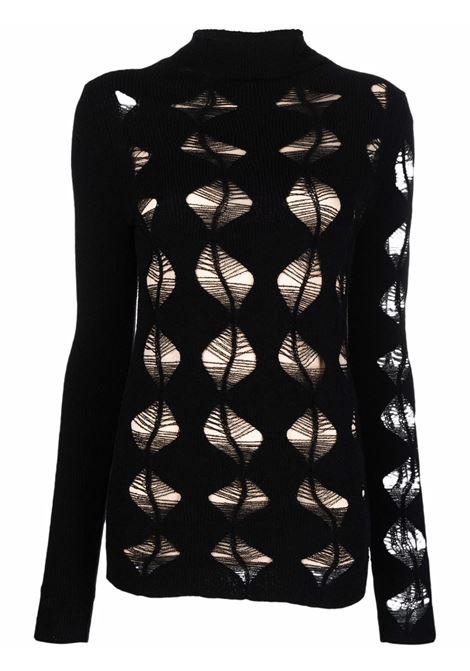 maglia  traforata con fodera staccabile SPORTMAX | Maglia | MURCIA004