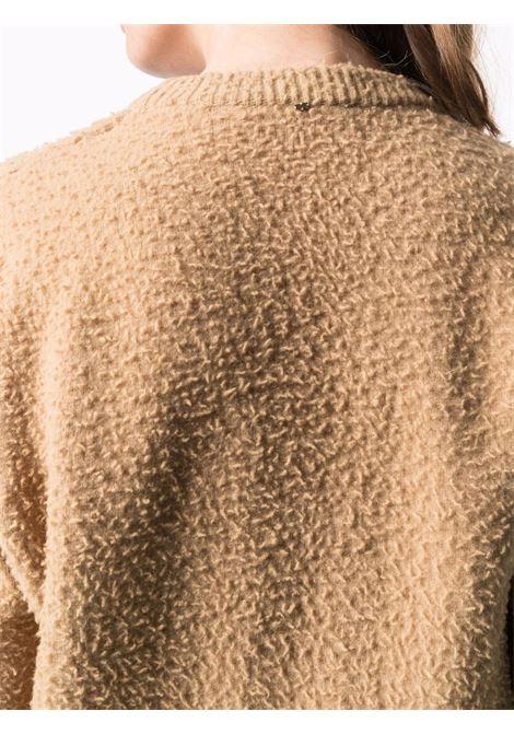 maglione girocollo effetto infeltrito SPORTMAX | Maglia | SPIGA001