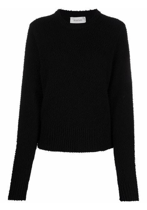 maglione girocollo effetto infeltrito SPORTMAX | Maglia | SPIGA005