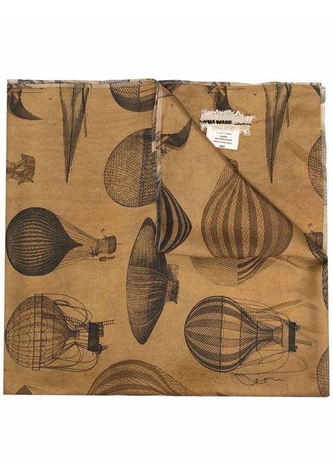 sciarpa con stampa mongolfiere UMA WANG | Sciarpa | UA0269UW809