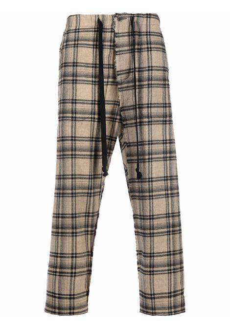 pantalone a quadri UMA WANG | Pantalone | UM3521UW029