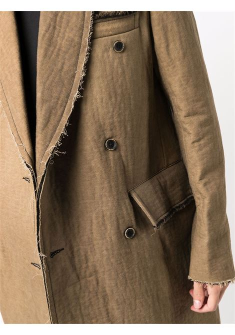 cappotto doppio petto oversize UMA WANG | Cappotto | UM8501UW200