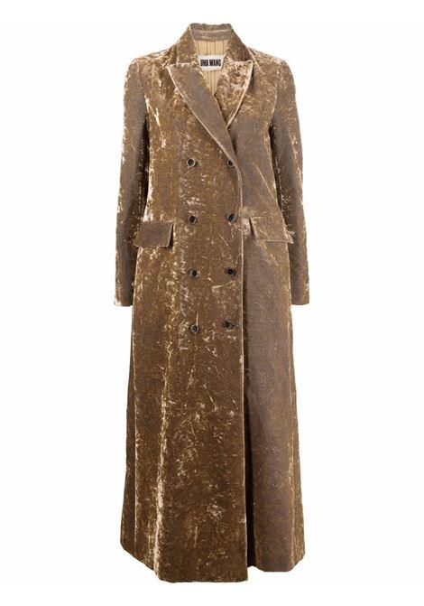 cappotto lungo doppio petto