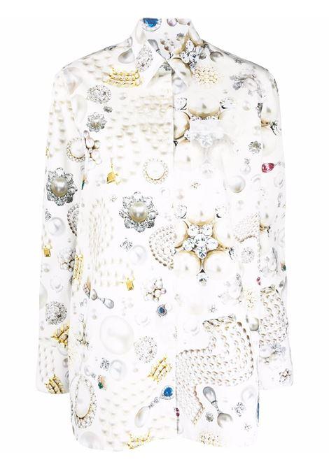 camicia oversize con stampa bijoux VIKTOR&ROLF | Camicia | TSH00802121