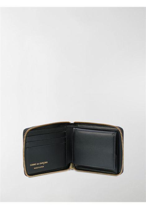 portafoglio a pois con zip WALLETS COMME DES GARCONS | Portafogli | SA7100PDBLK