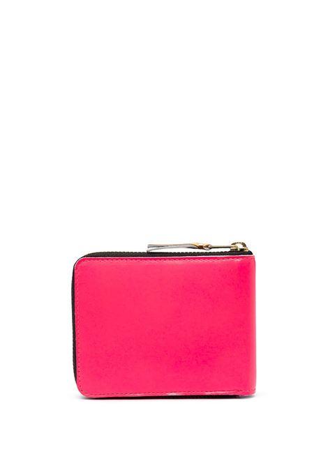portafoglio con zip WALLETS COMME DES GARCONS | Portafogli | SA7100SFPINK