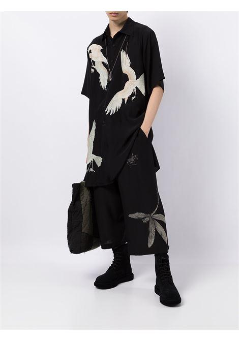 camicia lunga manica corta YOHJI YAMAMOTO pour homme | Camicia | HX-B36-8421