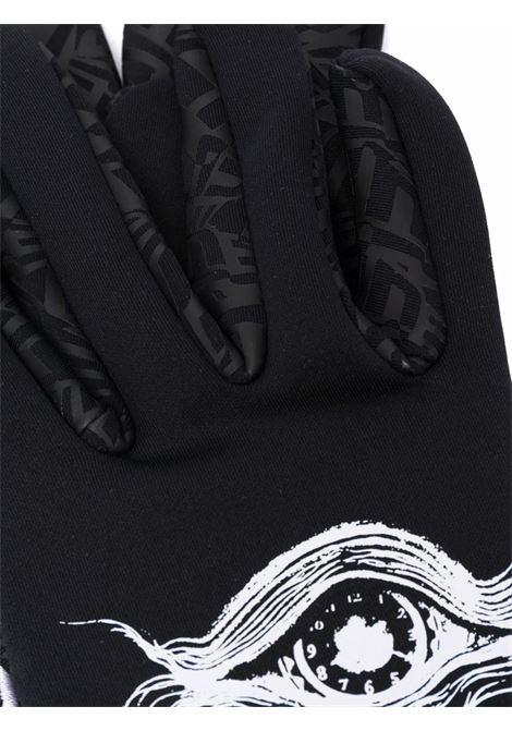 guanti con stampa occhio YOHJI YAMAMOTO pour homme | Guanti | HX-W33-6621