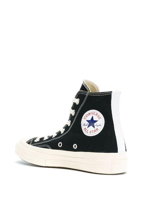 Sneakers a stivaletto con stampa cuore PLAY COMME DES GARCONS | Scarpe | AZ-K1121