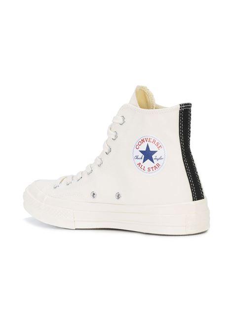 Sneakers a stivaletto con stampa cuore PLAY COMME DES GARCONS | Scarpe | AZ-K1122