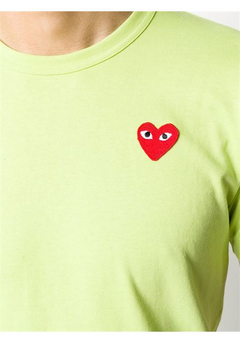 T-shirt con applicazione cuore PLAY COMME DES GARCONS | T-shirt | P1T2722