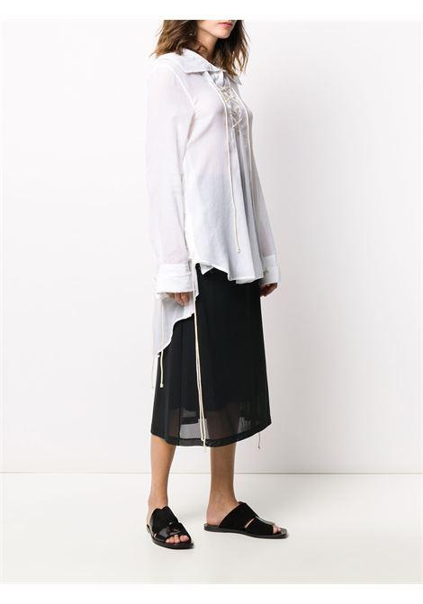 Camicia asimmetrica con lacci ANN DEMEULEMEESTER | Camicia | 2001-2012-P-121001