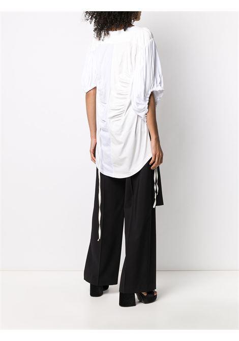 T-shirt oversize con maniche asimmetriche ANN DEMEULEMEESTER | Top | 2001-2416-P-228002